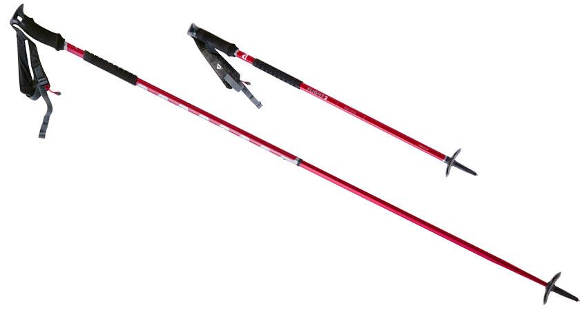 ultralight  adjustable backcountry poles  flight u2122 2