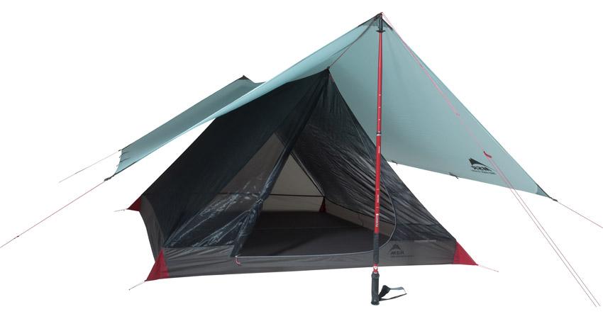 Thru-Hiker Mesh House 3 Trekking Pole Shelter  sc 1 st  MSR & MSR® Thru-Hiker Mesh House 3 Ultralight Shelter | MSR Gear
