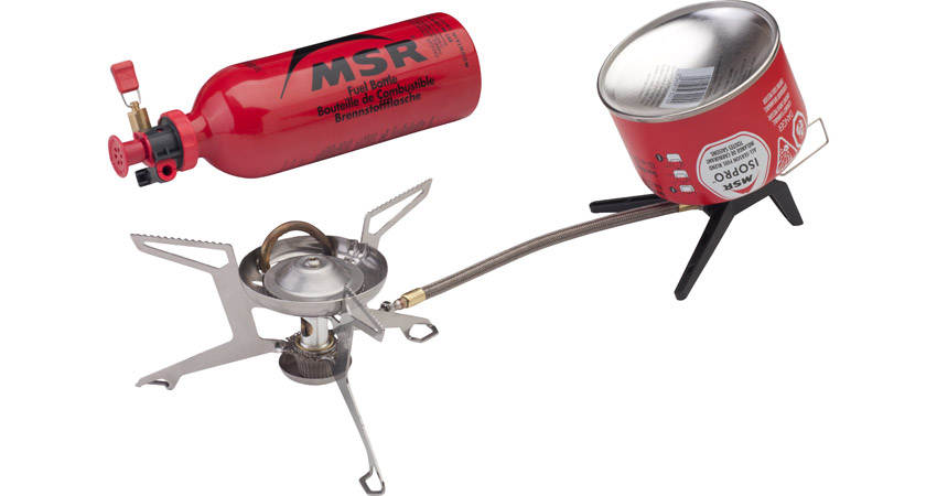 Whisperlite Universal: Ultimate, Hybrid-Fuel Backpacking Stove | MSR