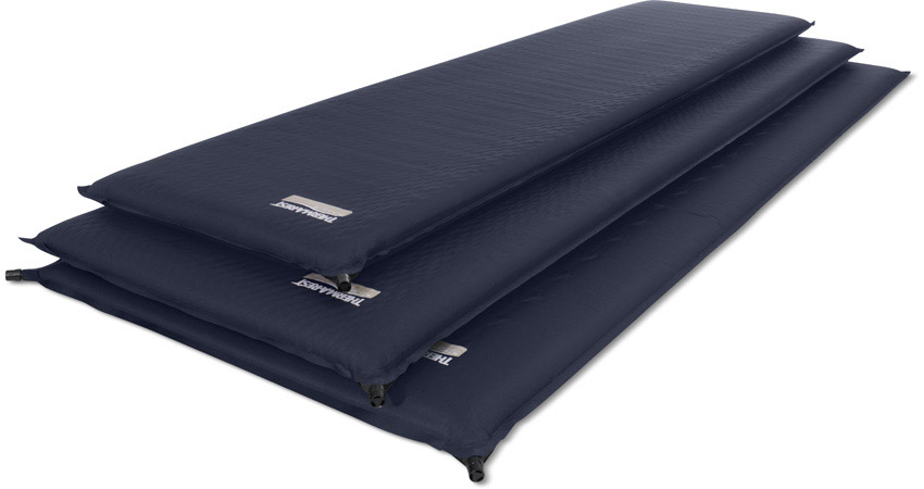 Self Inflating Matras : Basecamp camping mattresses therm a rest