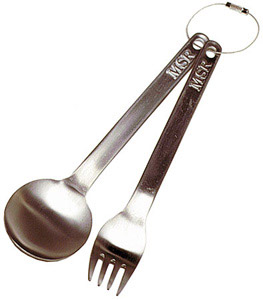 Titan Fork and Spoon